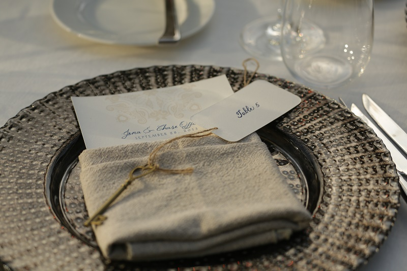 calligraphed menus for weddings los cabos mexico elena damy floral design