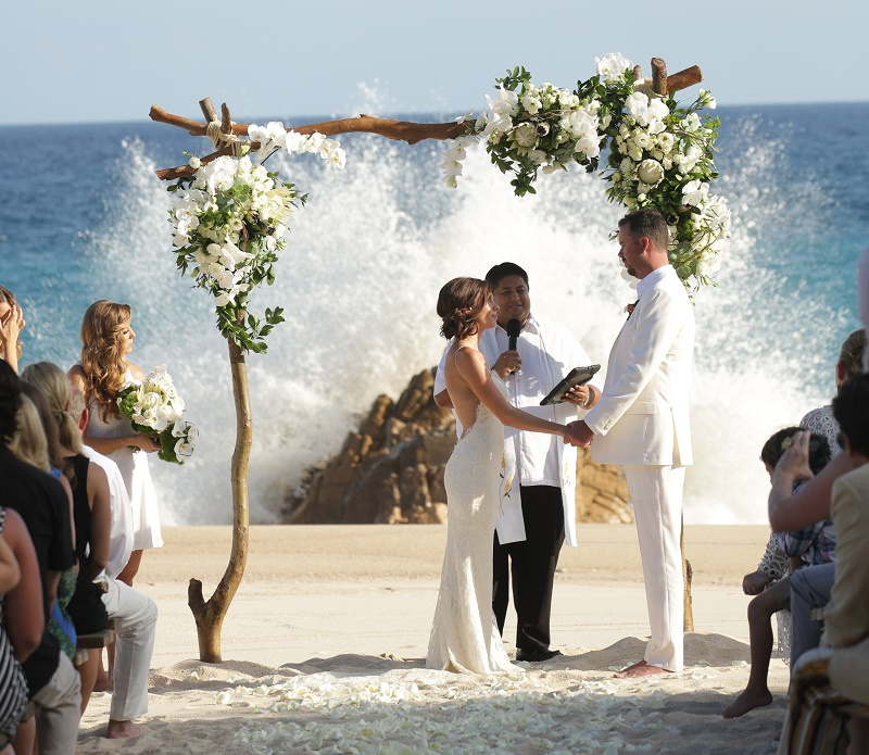 turtle beach wedding cabo san lucas weddings one&only Palmilla elena damy wedding planners