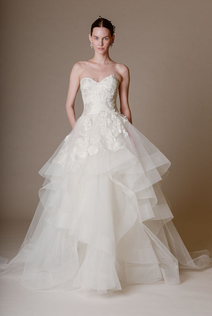 marchesa bridal 2016 wedding gown