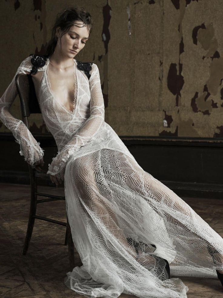 vera wang see through wedding gowns 2016 beach weddings