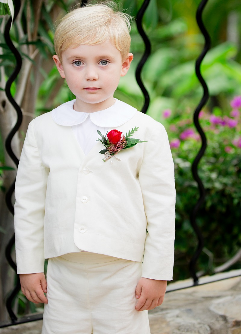 One & Only Palmilla Wedding Elena Damy Event Design - Sara Richardson Photography - -4990 Ringbearers