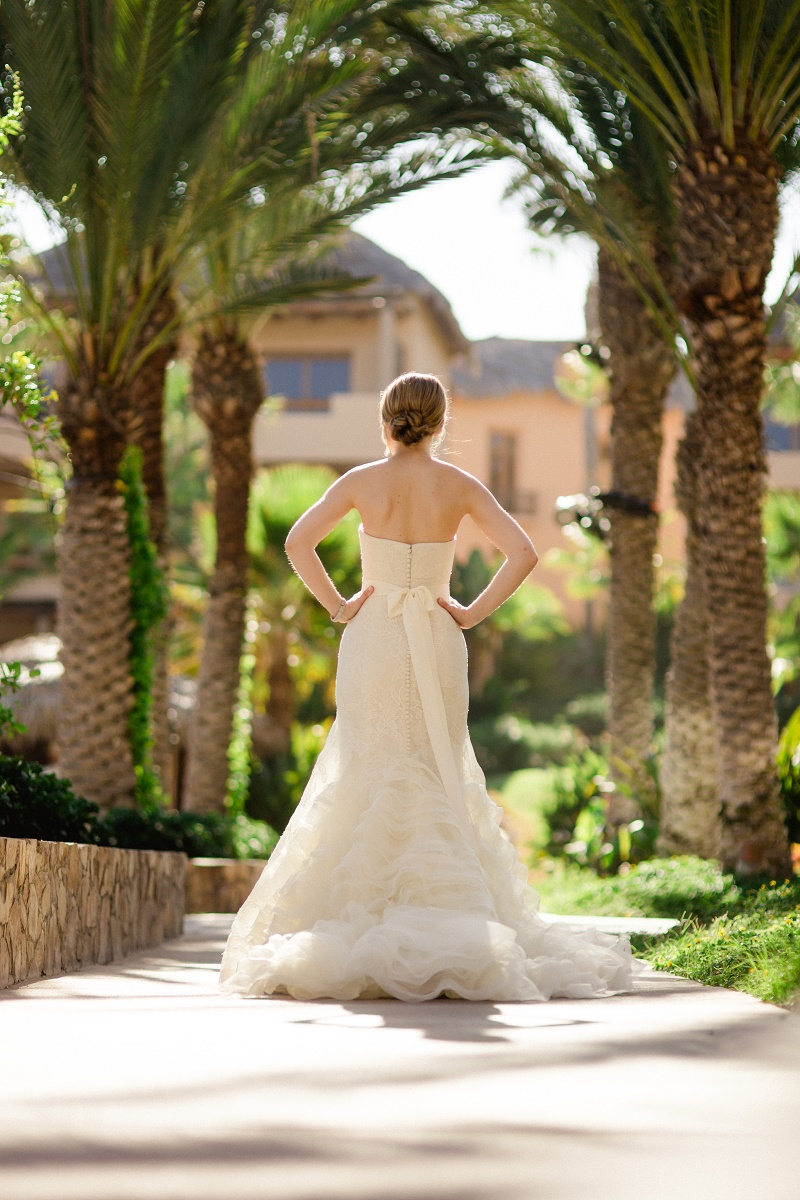 back of vera wang wedding gown mexico weddings luxury brides chris plus lynn