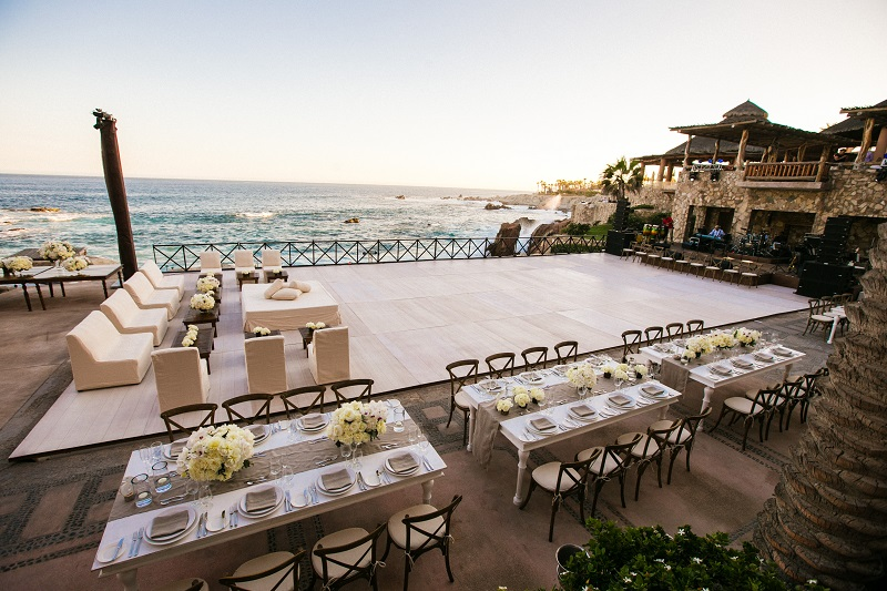 dinner space beach weddings los cabos esperanza resort elena damy event design chris plus lynn photography
