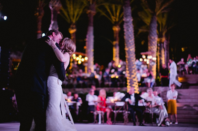 first dance beach weddings los cabos esperanza resort elena damy event design chris plus lynn photography