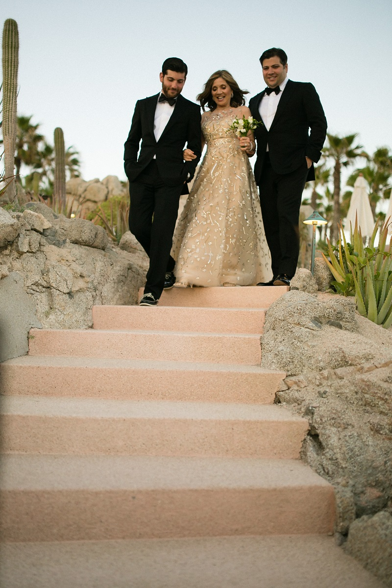 mother of the bride beach weddings los cabos esperanza resort elena damy event design chris plus lynn photography