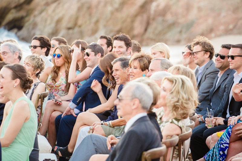 wedding guests beach weddings los cabos esperanza resort elena damy event design chris plus lynn photography 2