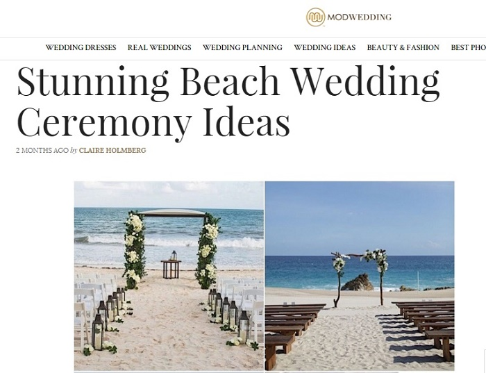 ModWedding Big Ceremony Ideas Elena Damy Los Cabos Mexico Wedding Planners