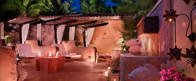 spa at one and only palmilla luxury mexican resorts on the beach for weddings