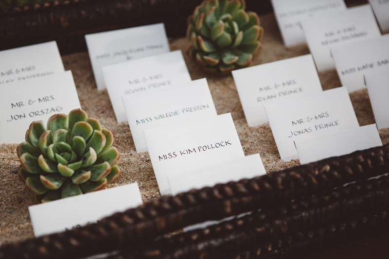 Placecards Elena Damy Destination Weddings Mexico Lauren Ross Photography