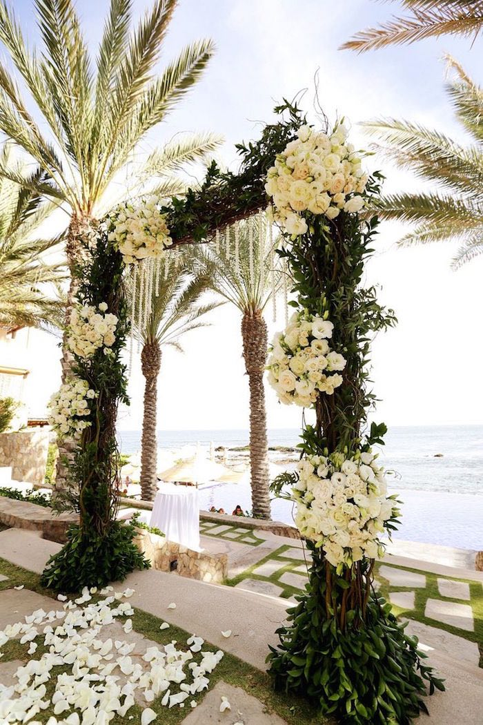 beach-wedding-ceremony-ideas-elena damy floral and event design destination weddings mexico 2