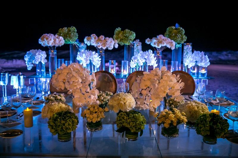traditional weddings baja mexico floral design elena damy westin cabo 15