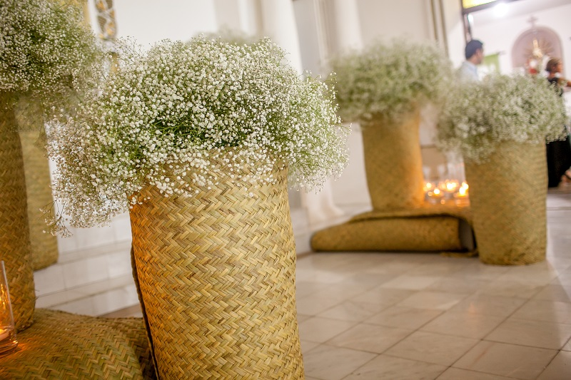 traditional weddings baja mexico floral design elena damy westin cabo 26