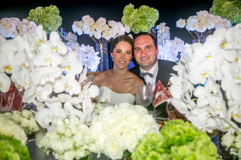traditional weddings baja mexico floral design elena damy westin cabo 7
