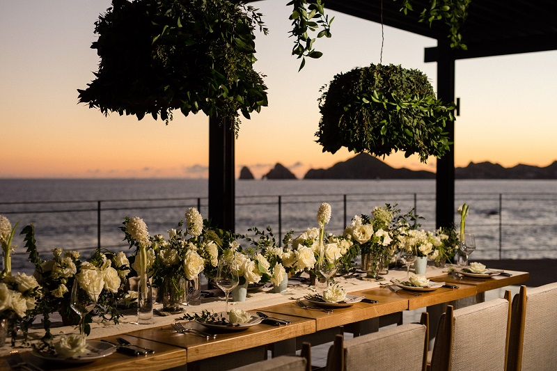 Luxury Weddings at The Cape Hotel Cabo San Lucas Event Designers Elena Damy White Weddings Photo by Chris Plus Lynn 12c
