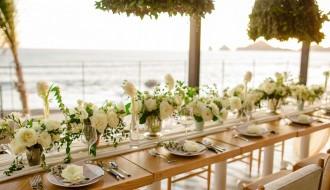 Luxury Weddings at The Cape Hotel Cabo San Lucas Event Designers Elena Damy White Weddings Photo by Chris Plus Lynn 14c