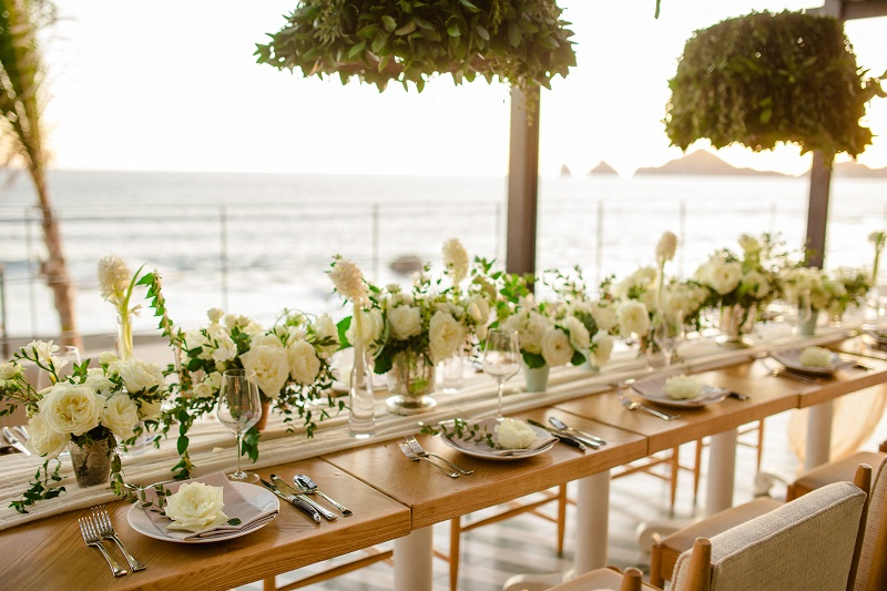Luxury Weddings at The Cape Hotel Cabo San Lucas Event Designers Elena Damy White Weddings Photo by Chris Plus Lynn 14c
