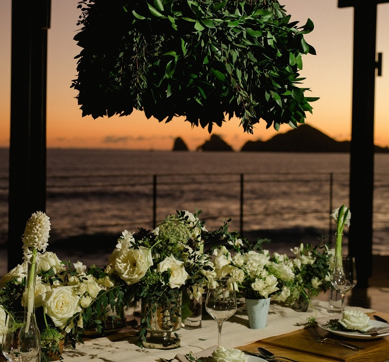 Luxury Weddings at The Cape Hotel Cabo San Lucas Event Designers Elena Damy White Weddings Photo by Chris Plus Lynn 20c