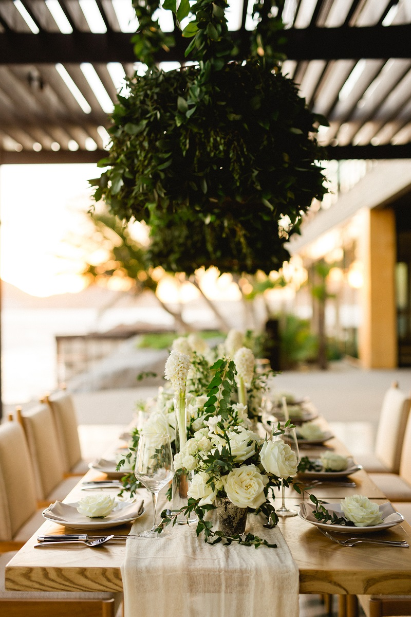 Luxury Weddings at The Cape Hotel Cabo San Lucas Event Designers Elena Damy White Weddings Photo by Chris Plus Lynn 7c