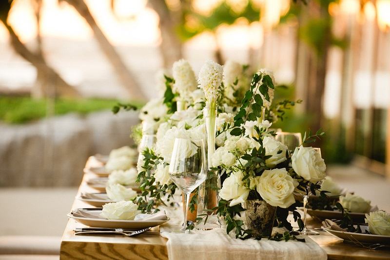 Luxury Weddings at The Cape Hotel Cabo San Lucas Event Designers Elena Damy White Weddings Photo by Chris Plus Lynn 9c