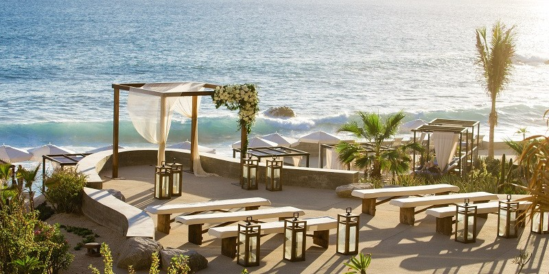 Elena Damy Wedding Ceremony Inspiration At The Cape Cabo San Lucas