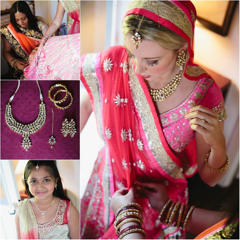 dressing a hindu bride santa barbara weddings elena damy destination weddings