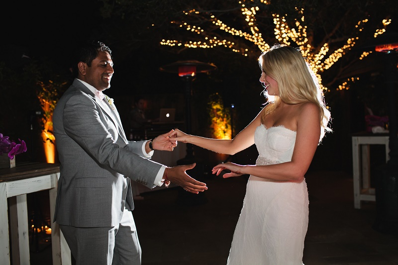 hindu groom arriving at the ceremony elena damy destination weddings california event planners 50