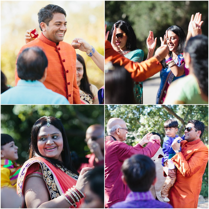hindu groom arriving at the ceremony elena damy destination weddings california event planners