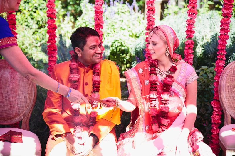 modern hindu weddings san ysidro ranch santa barbara weddings elena damy event design 12
