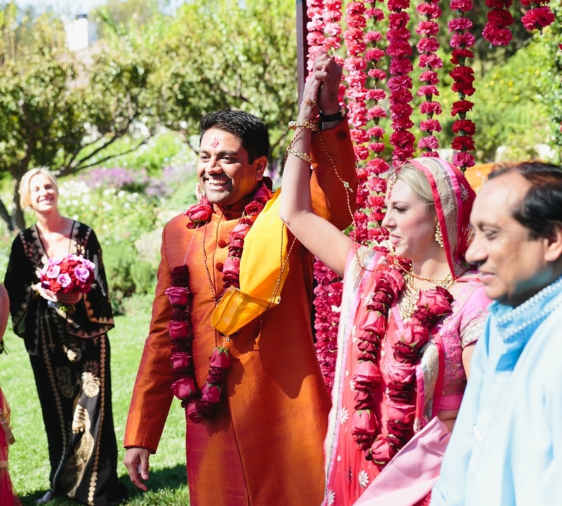 modern hindu weddings san ysidro ranch santa barbara weddings elena damy event design 13a