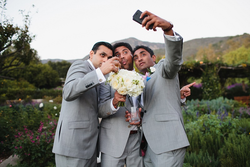 modern hindu weddings san ysidro ranch santa barbara weddings elena damy event design 31