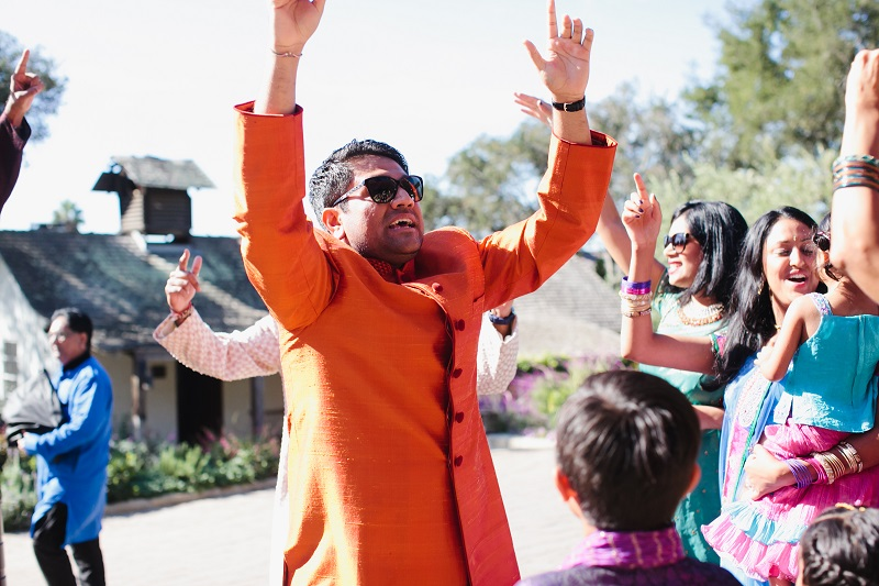 modern hindu weddings san ysidro ranch santa barbara weddings elena damy event design 7