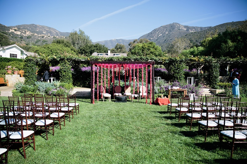 modern hindu weddings san ysidro ranch santa barbara weddings elena damy event design 9