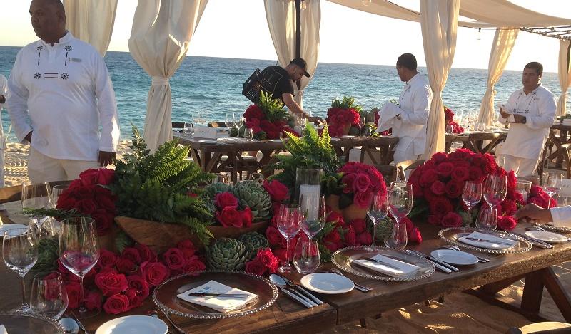 Jeff Leatham Los Cabos Wedding Elena Damy 2
