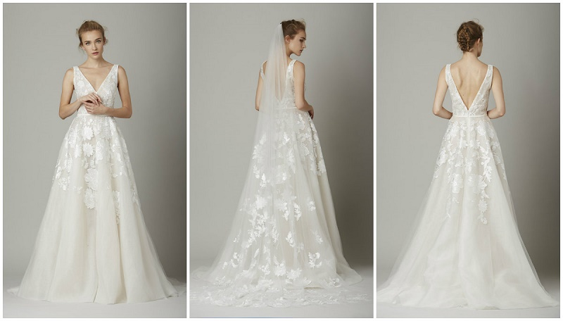 The vineyard wedding gown by lela rose lace overlays wedding gowns we love elena damy destination weddings
