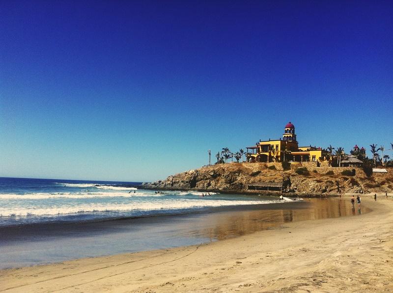 cerritos beach todos santos baja mexico