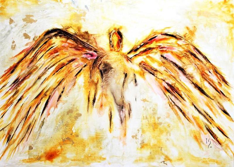 ivan guaderamma los cabos artist angel paintings
