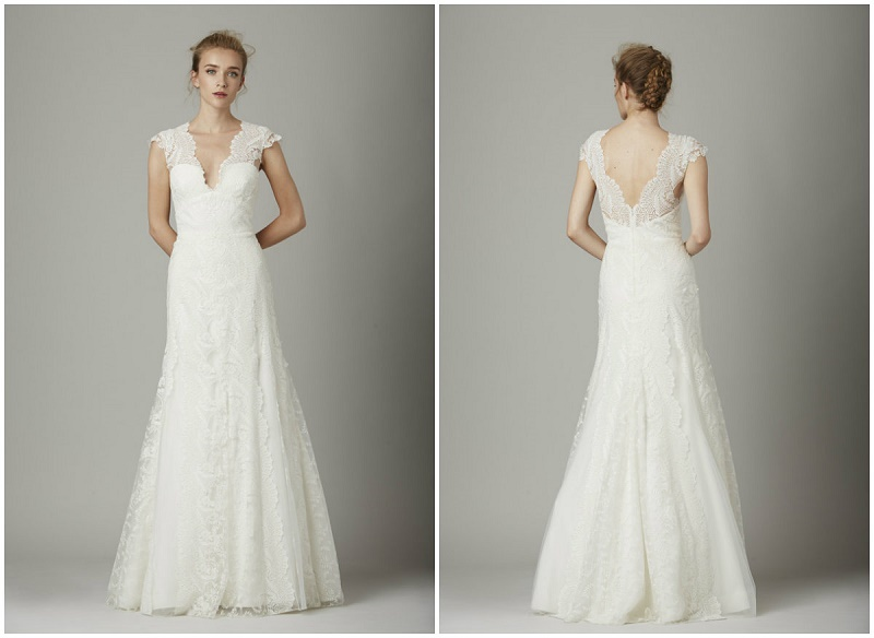 Elena Damy - lela rose the cove gown best beach wedding gowns elena ...