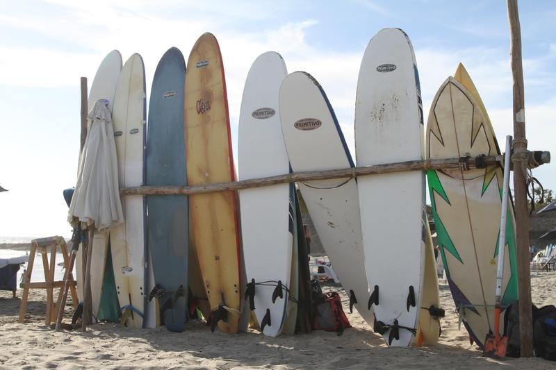 surfboards and big waves in cerritos beach baja mexico todos santos elena damy event planners