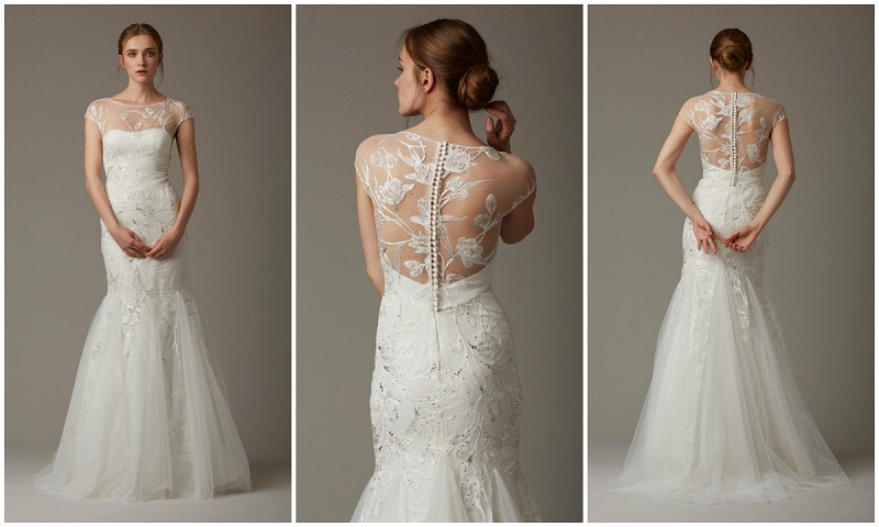 The Paddock Lace Wedding Gown By Lela Rose Beach Gowns We Love Elena Damy
