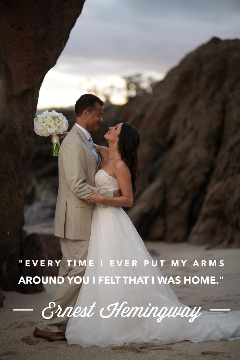 Monday Muse Elena Damy Destination Weddings Love Quotes Wedding Vows Chris Plus Lynn