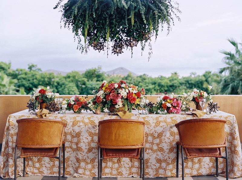 Outdoor Dinner Reception Ideas Mexico Weddings Elena Damy for Destination I Do Magazine