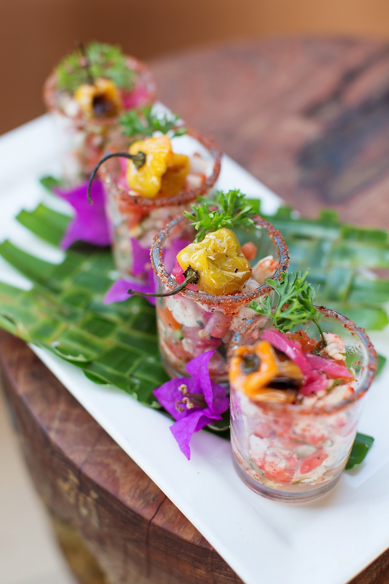 Elena Damy - We're Obsessed with these Ceviche Hors D'oeuvres - Elena Damy