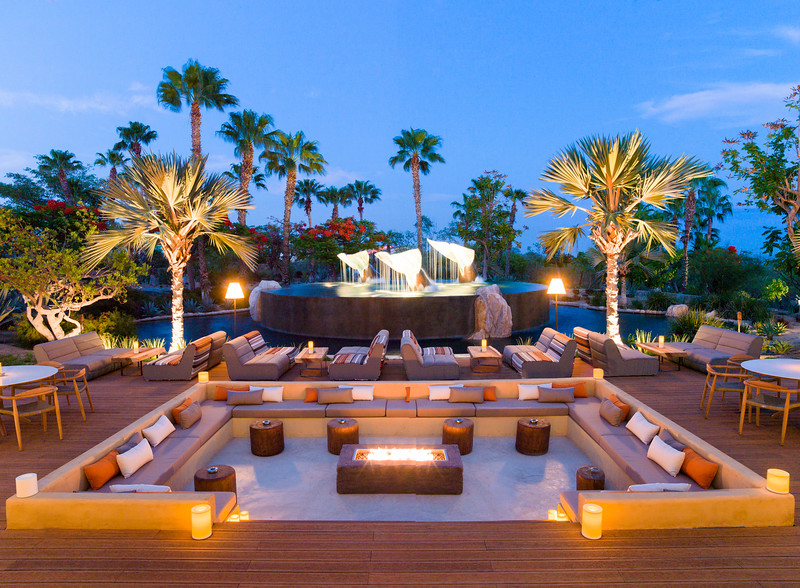 Outdoor Lounge TORO Latin Kitchen & Bar By Richard Sandoval Elena Day Destination Wedding Planners