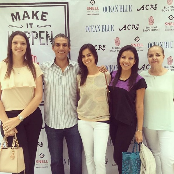 acre baja make it happen event elena damy carlos damy elsa dilasser claudia morales
