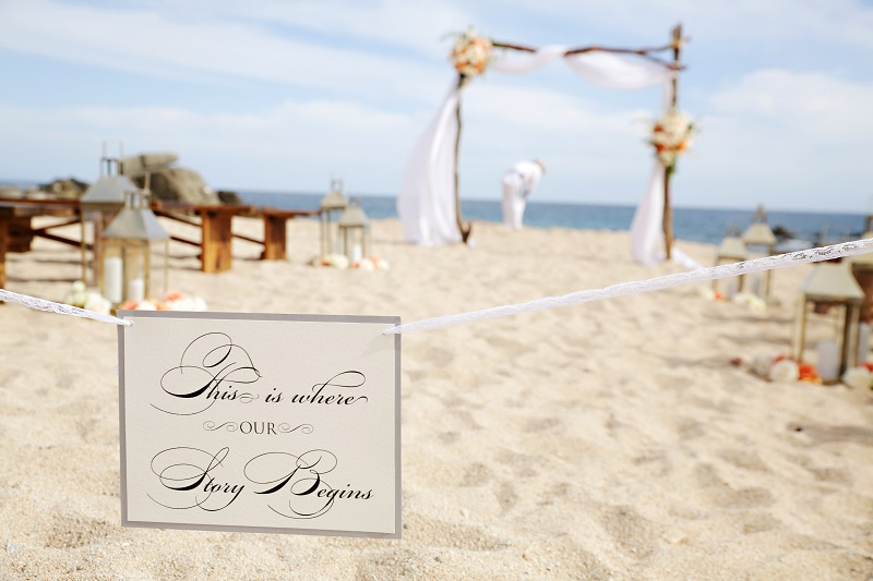 beach wedding ceremonies los cabos mexico elena damy floral designer chris plus lynn