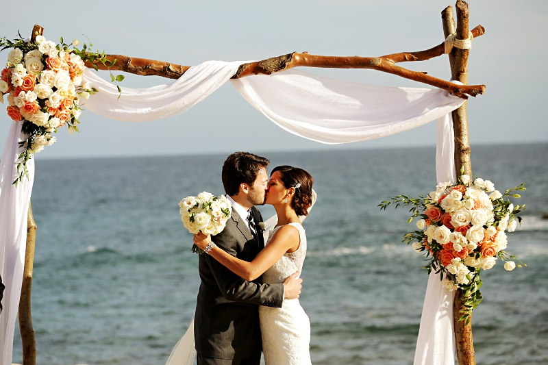 natural wedding ceremony structures beach weddings elena damy floral design chris plus lynn photo