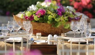 tropical floral arrangements mexico style flowers elena damy floral design event planning corporate events mexico