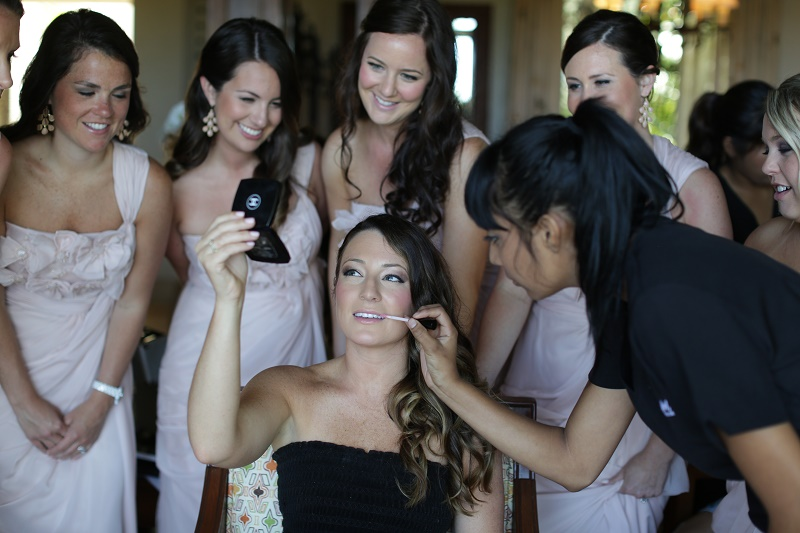 bridal makeup bridesmaids wedding day beauty cabo weddings elena damy destination wedding planners chris plus lynn photo