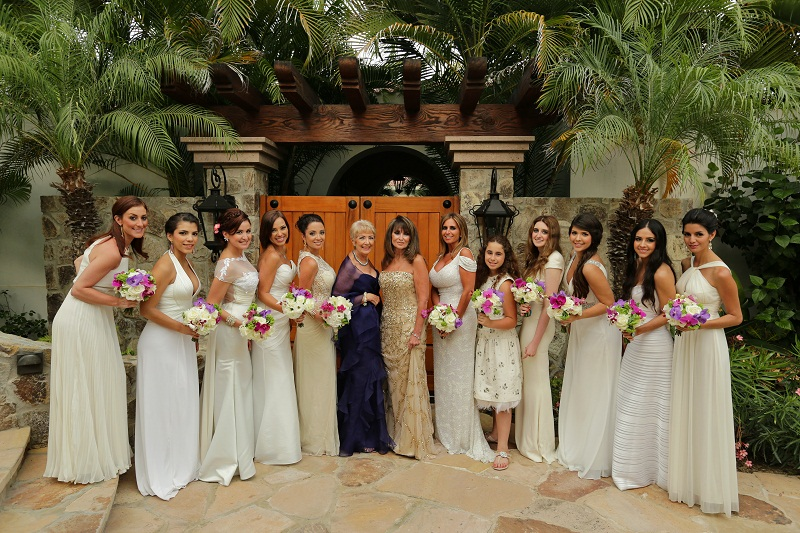 bridal party photos cabo weddings elena damy destination wedding planners mexico chris plus lynn photo