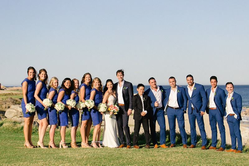 bridal party photos weddings at cabo del sol elena damy destination wedding planners mexico chris plus lynn photo